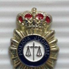 Pins de colección: PIN INSIGNIA POLICÍA JUDICIAL. Lote 280129488