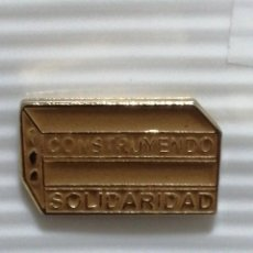 Pins de colección: PIN ING CONSTRUYENDO SOLIDARIDAD. Lote 280129513