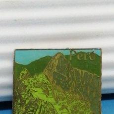 Pins de colección: PIN AGUJA PERÚ RECUERDO. Lote 280129568