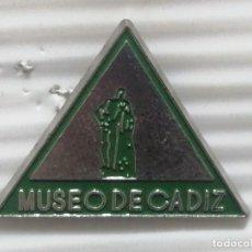Pins de colección: PIN ANDALUCÍA MUSEO DE CÁDIZ. Lote 280130248