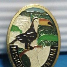 Pins de colección: PIN AGUJA, MISSIONES, ARGENTINA PINTADO A, MANO. Lote 280130268