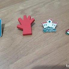 Pins de colección: 4 PINS PNV, PACTO LIZARRA, ESCUELA EKOLOGIKA, FEMINISMO. Lote 230052590