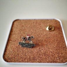 Pins de coleção: PIN PRIX D AMERIQUE LUNA PARK HIPICA CABALLOS BUEN ESTADO INSIGNIA. Lote 285503233