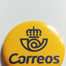 Pin's de collection: CHAPA DE CORREOS Y TELEGRAFOS - IMAN DE 58MM. Lote 286289898