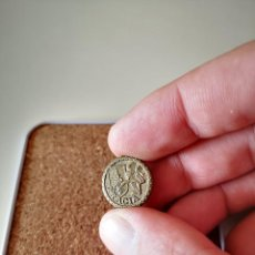 Spille di collezione: ANTIGUO PIN DE AGUJA DE GRACIA BARCELONA CATALUNYA CATALUÑA OJAL SOLAPA INSIGNIA. Lote 287125538