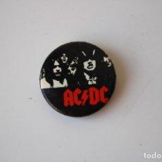 Pins de colección: CHAPA PIN ACDC AÑOS 80. Lote 287817633