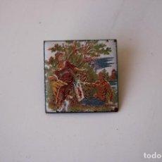 Pins de colección: CHAPA PIN PORCELANA AMANTES AÑOS 80. Lote 287820518
