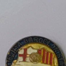 Pins de colección: PIN AGUJA PENYA BARCELONISTA DE VILANOVA. Lote 288125368