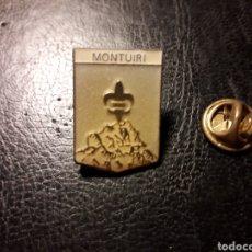 Pins de colección: PIN HERÁLDICO ESCUDO DE MONTUÏRI (ISLAS BALEARES / ILLES BALEARS) PEDIDO MÍNIMO 3 €. Lote 288749243