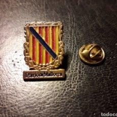 Pins de colección: PIN HERÁLDICO ESCUDO COMUNIDAD AUTÓNOMA BALEAR (ISLAS BALEARES / ILLES BALEARS) PEDIDO MÍNIMO 3 €. Lote 288749408