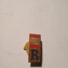 Pins de colección: ANTIGUO PIN - INSIGNIA ESMALTADO R.. Lote 289535203