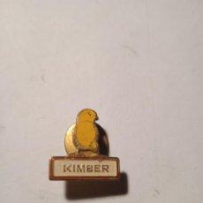Pins de colección: ANTIGUO PIN - INSIGNIA KIMBER. ALGUNAS SEÑALES DE USO.. Lote 289535468