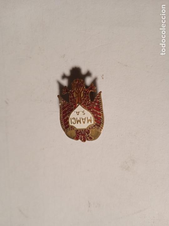 ANTIGUO PIN - INSIGNIA ESMALTADO. MOTORES MAMCI. (Coleccionismo - Pins)