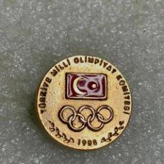 Pins de colección: 2057.MUY RARO PIN COMITÉ OLÍMPICO NACIONAL TURQUIA (OLYMPIC COMMITTEE TURKEY ). Lote 293524988