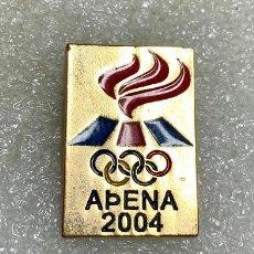 Pins de colección: 2058.RARO PIN COMITE OLIMPICO NACIONAL DE ISLANDIA ATENAS 2004(OLYMPIC NOC TEAM ICELAND). Lote 293524993