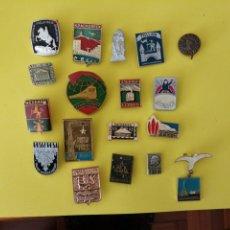 Pins de colección: LOTE DE PINS SOVIETICOS. Lote 293649588