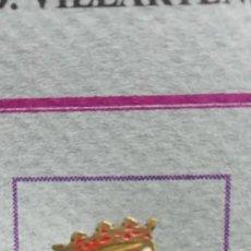 Pins de colección: PIN ALFILER FÚTBOL ESCALONA. Lote 293892283