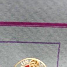 Pins de colección: PIN ALFILER FÚTBOL VILLARTENSE. Lote 293893323