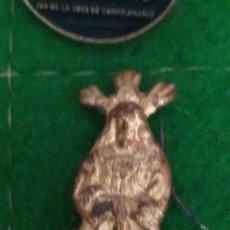 Pins de colección: ANTIGUO PIN DE METAL DORADO. NAZARENO. Lote 294038243
