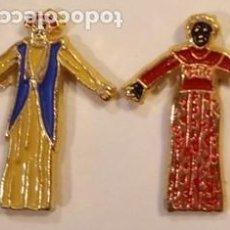 Pins de coleção: PIN - GEGANTS I NANOS / GIGANTES Y CABEZUDOS - PAREJA - METAL ESMALTADO - SIN MAS DATOS. Lote 295490453
