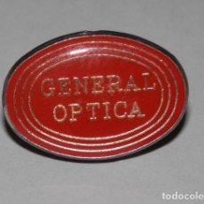 Pins de colección: UN PIN DE LA GENERAL OPTICA. Lote 296735303