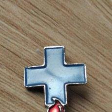 Pins de colección: DONANTES DE SANGRE - ANTIGUO PINS DE AGUJA. Lote 296770253