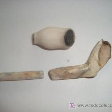 Pipas de fumar: ANTIGUAS PIPAS DE HUESO, SACADAS DEL MAR, . Lote 12991681