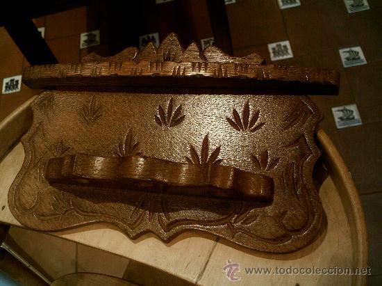 Pipas de fumar: SOPORTE - Repisa para pipas antigua. - Foto 2 - 26117507