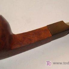 Pipas de fumar: PIPA DE FUMAR. MARCA OLD FASHION. CAÑA ROMBOIDAL. MADERA. . . Lote 16762196