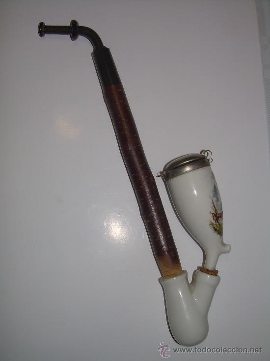 ANTIGUA PIPA DE PORCELANA (Coleccionismo - Objetos para Fumar - Pipas)