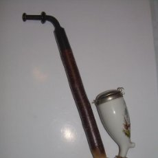 Pipas de fumar: ANTIGUA PIPA DE PORCELANA. Lote 152562596