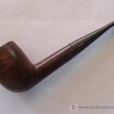 Pipas de fumar: PIPA DE FUMAR. MADERA PULIDA. MARCA ADYIN. . . Lote 20115001