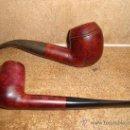 Pipas de fumar: 2 PIPAS DE FUMAR UNA PER Y OTRA DE FABRICACION ITALINA. Lote 26980761