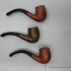 Pipas de fumar: LOTE DE 3 MINI-PIPAS . Lote 156182942