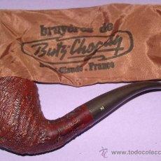 Pipas de fumar: PIPA DE FUMAR. MARCA BUTZ CHOQUIN. MODELO NEVADA. FABRICACIÓN FRANCESA. CON FUNDA. . Lote 28202199