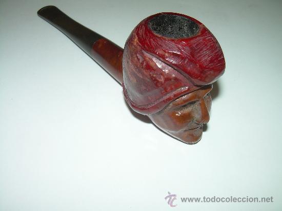 Pipas de fumar: ANTIGUA Y BONITA PIPA TALLADA.....EVEREST. - Foto 5 - 28556935