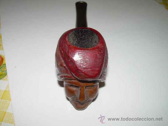 Pipas de fumar: ANTIGUA Y BONITA PIPA TALLADA.....EVEREST. - Foto 6 - 28556935