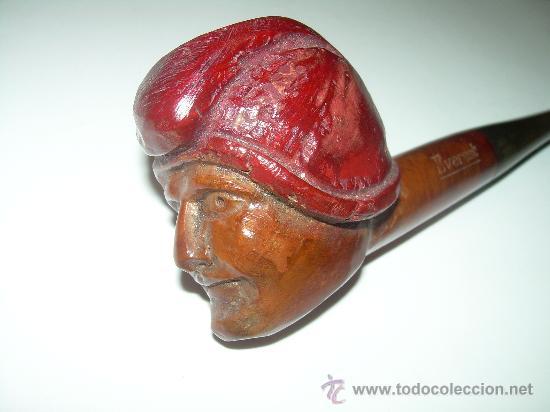 Pipas de fumar: ANTIGUA Y BONITA PIPA TALLADA.....EVEREST. - Foto 7 - 28556935