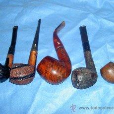 Pipas de fumar: LOTE DE 5 PIPAS. Lote 30287177