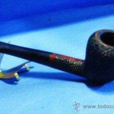 Pipas de fumar: PIPA MADERA GRABADA - MARCA EVEREST - USADA - AÑOS 60 / 70. Lote 31588107