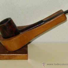Pipas de fumar: PIPA DE FUMAR CLÁSICA. MARCA EVEREST. MODELO RED. MADERA PULIDA. . Lote 31835744