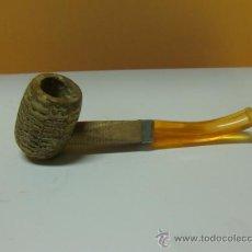 Pipas de fumar: PIPA DE MAIZ CORN COB - MISSOURI. METAL EN EL CENTRO. Lote 31889487