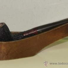 Pipas de fumar: PIPA DE FUMAR. MARCA DON KING GUARANTEED. MADERA. . Lote 33623666