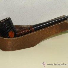 Pipas de fumar: PIPA DE FUMAR. DON KING GUARANTEED. FABRICACIÓN ESPAÑOLA. . Lote 34491217