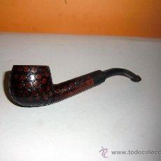 Pipas de fumar: PIPA REAL BRIAR. DECORACIÓN CON CÍRCULOS. Lote 36901665