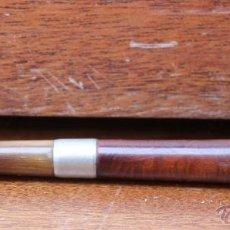 Pipas de fumar: PIPA PARA FUMAR PARA COLECCIONISTAS BRUYERE CON ARO DE PLATA Y MARCAS. Lote 45809821