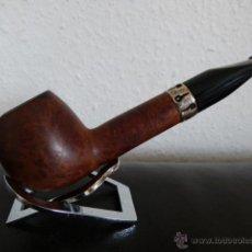 Pipas de fumar: PIPA HOUSE OF SMOKE CON ANILLA DE PLATA. Lote 43535739
