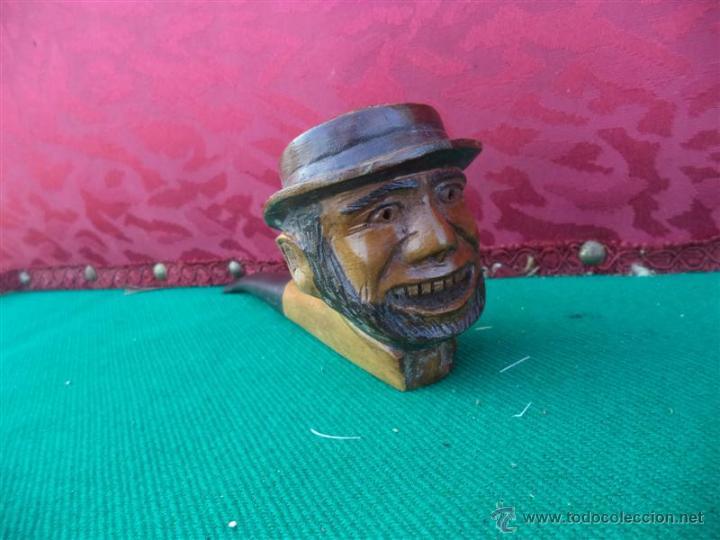 Pipas de fumar: pipa cabeza tallada - Foto 2 - 43896711