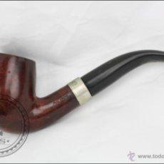 Pipas de fumar: PIPA PARA FUMAR EN MADERA OSCURA - ACIRE - LONGITUD 15,5 CM. Lote 45637797