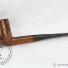 Pipas de fumar: PIPA PARA FUMAR EN MADERA CLARA - ERIX. MODELO 498 - LONGITUD 14,5 CM. Lote 45637987